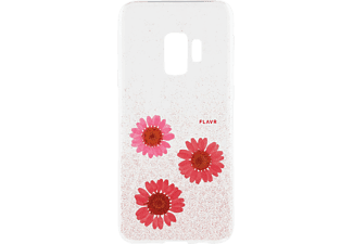 FLAVR 31550 IPLATE REAL FLOWER Galaxy S9 Handyhülle, Pink