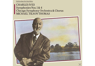 Charles Edward Ives - Sinfonie 1 & 4 - (CD)