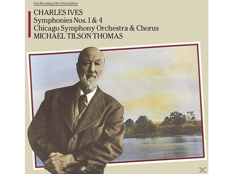 Charles Edward Ives - Sinfonie 1 & 4 [CD]