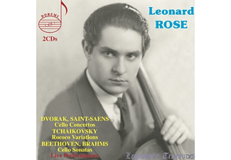 Leonard Rose - Leonard Rose | Legendary Treasures - (CD)