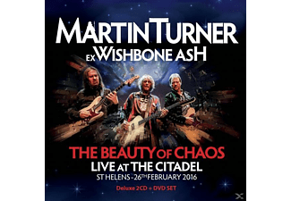 Martin Turner - The Beauty Of Chaos-Live (2CD+1DVD Edition) - (CD + DVD Video)