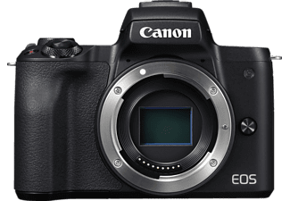 CANON EOS M50 Body Systemkamera 24.1 Megapixel  , 7.5 cm Display   Touchscreen, WLAN