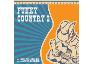 VARIOUS - Funky Country Vol.2 - (Vinyl)