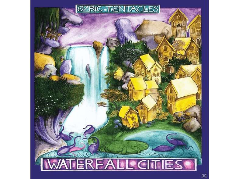 The Ozric Tentacles - Waterfall Cities [CD]