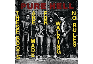 Pure Hell - THESE BOOTS ARE MADE FOR WALKING/NO RULES (7INCH) - (Vinyl)
