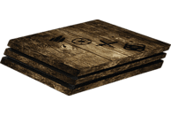 "HAMA PlayStation 4 PRO ""Wood"" , Design-Skin, Holzfarben"