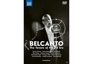 Caruso/Slezak/Tauber/Gigli/Ros - Belcanto-The Tenors of the 78 Era - (DVD + CD)