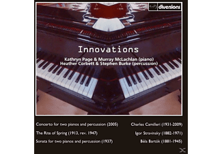 McLachlan/Page/Corbett/Burke - Innovations - (CD)