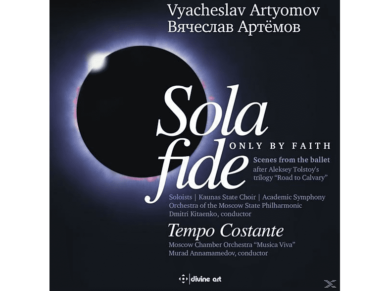 Annamamedov/Moscow Chamber Orchestra - Sola fide (Only by Faith)/Tempo Costante [CD]