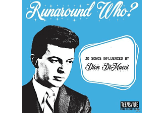 VARIOUS - Runaround Who? (32 Songs Influenced By Dion) - (CD)