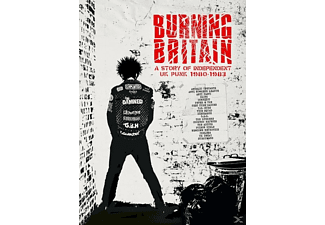 VARIOUS - Burning Britain-A Story Of Independent UK Punk - (CD)
