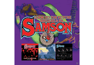 Samson - Look To The Future/Refugee/P.S...(3CD Boxset) - (CD)