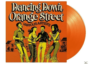 VARIOUS - Dancing Down Orange Street (ltd Orangenes Vinyl) - (Vinyl)