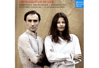 Dorothee Oberlinger, Vittorio Ghielmi - The Passion of Musick - (CD)