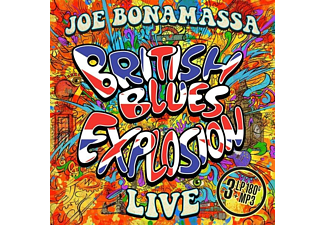 Joe Bonamassa - British Blues Explosion Live (Black 180Gr 3LP+MP3) - (LP + Download)