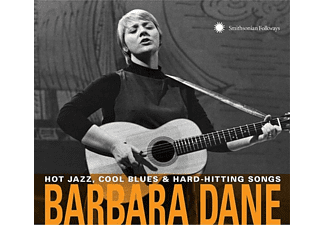 Barbara Dane - Hot Jazz,Cool Blues & Hard-Hitting Songs - (CD)