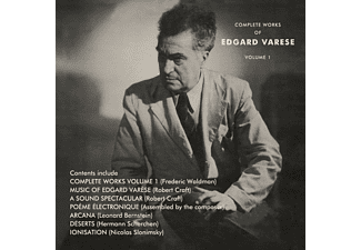 Edgard Varese - The Complete Works Of Edgard Varèse Vol.1 (3CD) - (CD)