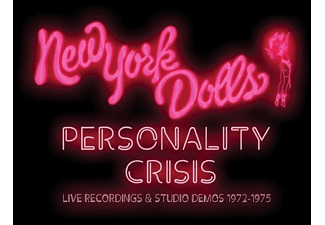 New York Dolls - Personality Crisis-1972-1975 (5CD Boxset) - (CD)