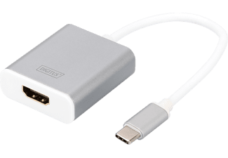 DIGITUS DA 70836, USB Typ-C auf HDMI, 4K30Hz Ultra HD, Grafik Adapter