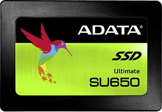 ADATA Ultimate SU650, 480 GB, Interne SSD, 2.5 Zoll