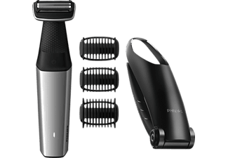 PHILIPS BG 5020/15, Bodygroom, Grau/Schwarz