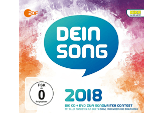 VARIOUS - Dein Song 2018 - (CD + DVD Video)
