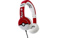 OTL Pokemon Pokeball Junior, On-ear Kopfhörer, Schwarz