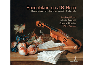 Michael Form, Marie Rouquié, Ètienne Floutier, Dirk Börner - Speculation on J.S.Bach-Reconstructed music - (CD)