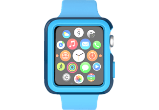 SPECK CandyShell, Schutzhülle, Apple, Watch 42 mm, Deep Sea Blue/Lagoon Blue