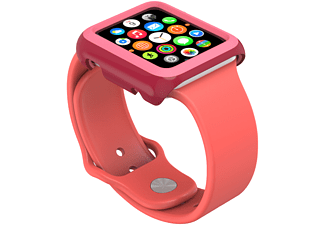 SPECK CandyShell, Schutzhülle, Apple, Watch 42 mm, Crimson Red/Splash Pink