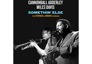 Miles Davis, Cannonball Adderley - Somethin' Else-The Stereo & Mono Versions+12 B - (CD)