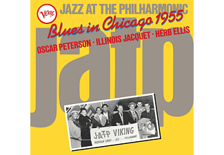 Oscar Peterson, Illinois Jacquet, Herb Ellis - Jazz At The Philharmonic: Blues In Chicago 1955 - (Vinyl)