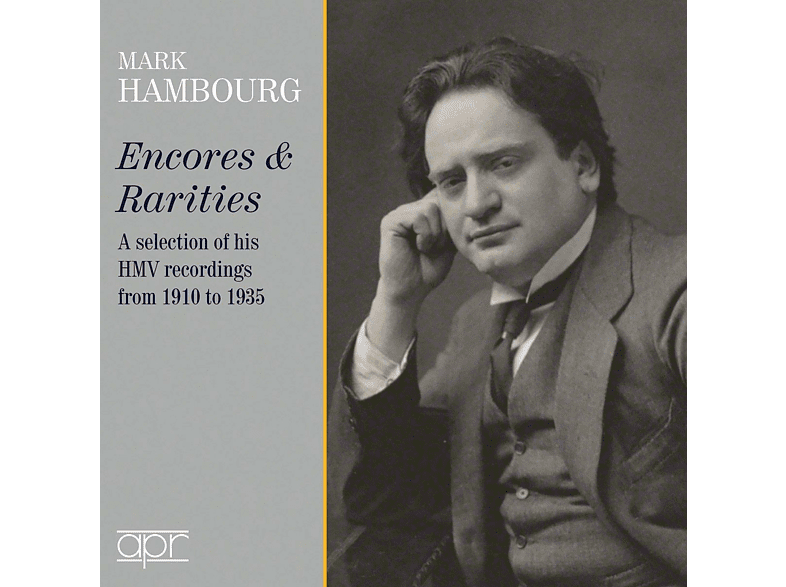 Mark Hambourg - Mark Hambourg: Encores & Rarities-Selected HMV R [CD]