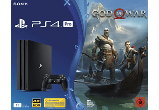 SONY PlayStation®4 Pro (1TB) Schwarz + God of War