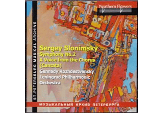 Leningrad Philharmonic Orchestra & Choir - Sinfonie 2/A Voice from the Chorus - (CD)