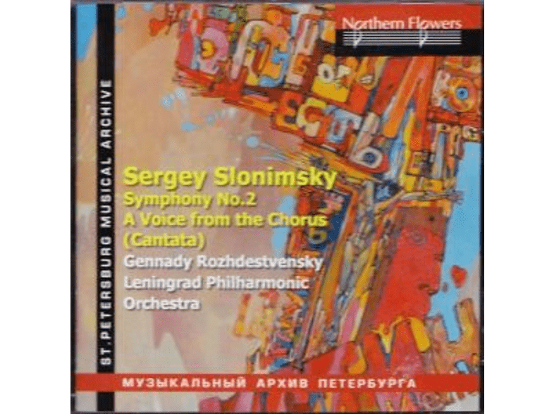 Leningrad Philharmonic Orchestra & Choir - Sinfonie 2/A Voice from the Chorus [CD]