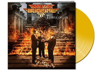 Bonfire - Temple Of Lies (Lim.Gtf.Yellow Vinyl) - (Vinyl)