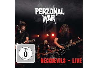 Perzonal War - Neckdevils-Live (Ltd.CD+DVD Digipak) - (CD + DVD Video)