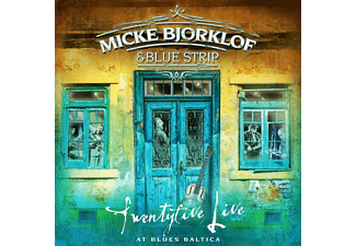 Micke & Blue Strip Bjorklof - Twentyfive Live At Baltica Blues - (CD)