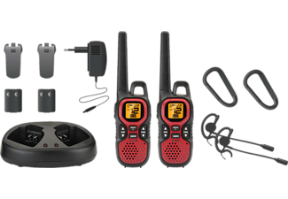 SWITEL WTF7000 Walkie Talkie (Schwarz, rot)