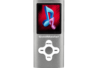 GOLDMASTER MP4-224 1.8 inç 8GB Gri Mp3/Mp4 Player