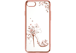 IPROTECT High-Heel Handyhülle, Transparent/Rosa, passend für Apple iPhone 7, iPhone 8