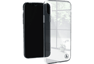 HAMA Glass , Backcover, Apple, iPhone X, Glas/Thermoplastisches Polyurethan, Transparent