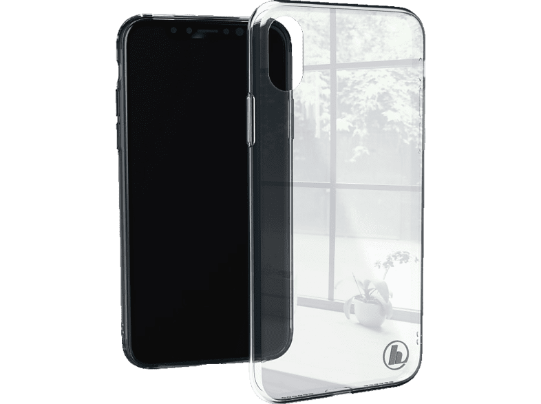 HAMA  Glass Backcover Apple iPhone X Glas/Thermoplastisches Polyurethan Transparent | 04047443379795