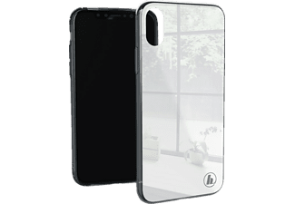 HAMA Prime Line Glass Handyhülle, Hellgrau, passend für Apple iPhone X