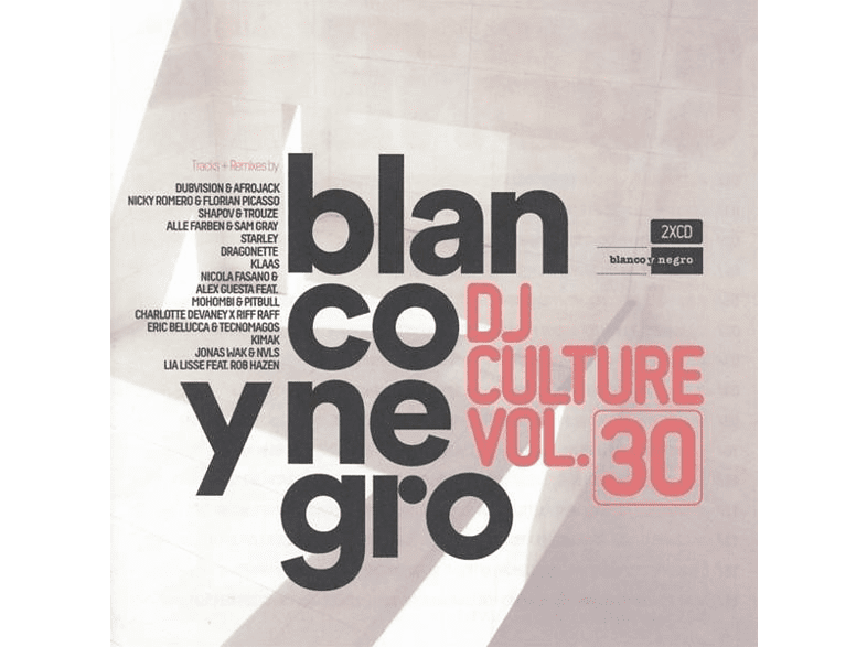 VARIOUS - Blanco Y Negro DJ Culture Vol.30 [CD]