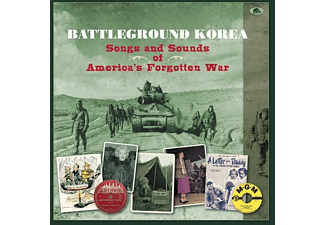 VARIOUS - Battleground Korea-Songs And Sounds Of America's - (CD + Buch)