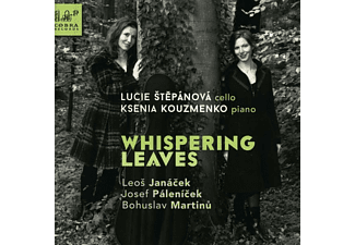Stepanova,Lucie/Kouzmenko,Ksenia - Whispering Leaves - (CD)