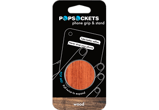 POPSOCKETS WOOD ROSEWOOD Universal Handyhalterung, WOOD ROSEWOOD