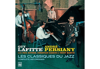 Guy Lafitte, André Persiany, Paul Rovere, Christian Garros, Teddy Martin - Les Classiques Du Jazz - (CD)